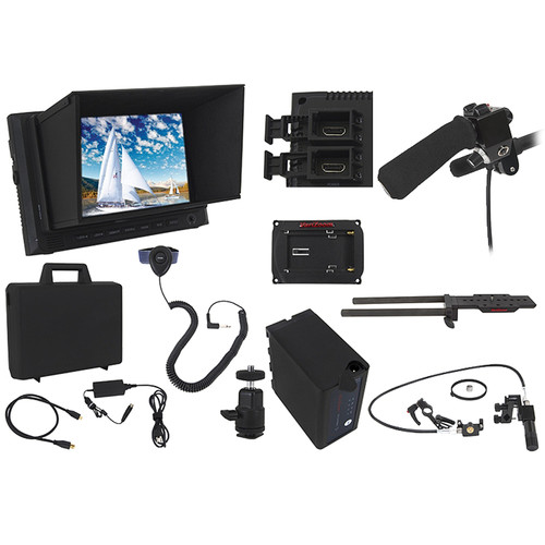 VariZoom Ultimate Zoom and Focus Control with Monitor Kit for Sony PMW-300/200