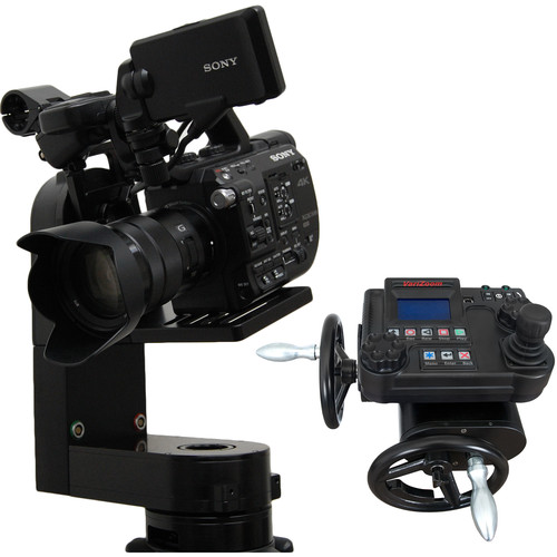 VariZoom CP Micro Remote Head with Advanced Console Controller and Handwheels