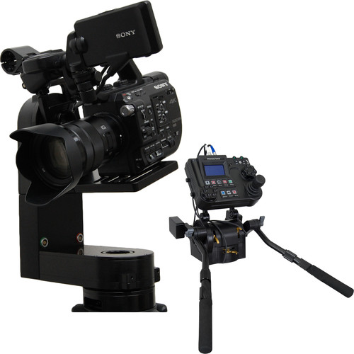 VariZoom CP Micro Remote Head with Advanced Console Controller and Pan Bars