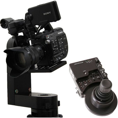 VariZoom CP Micro Remote Head with Jibstick Pro Controller (100mm Mount)