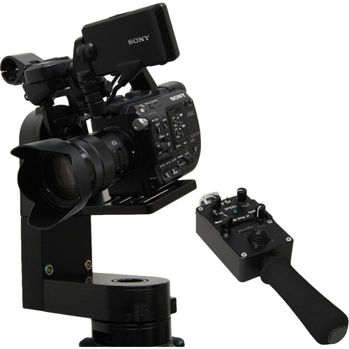 VariZoom CP Micro Remote Head with Jibstick Jr Controller (100mm Mount)