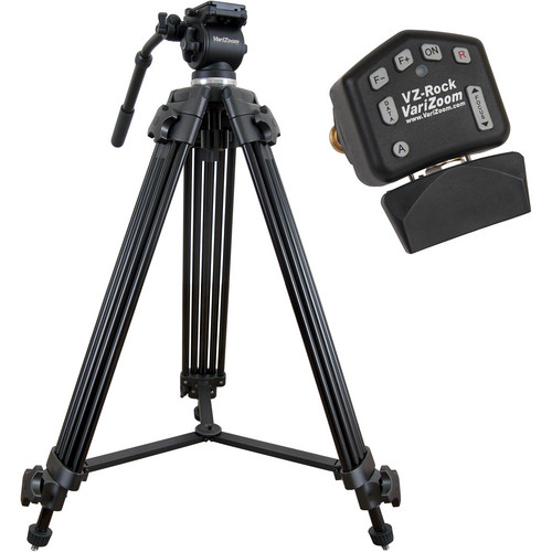 VariZoom VZ-TK75A Video Tripod System & VZ-Rock Lens Control Kit
