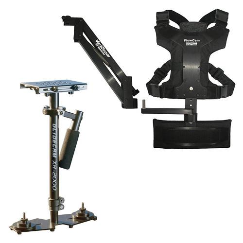 VariZoom XR-2000 and FlowCam DV Sportster Stabilization System