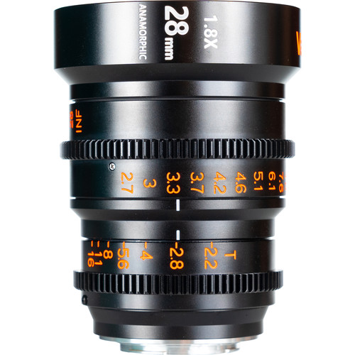 Vazen 28mm T2.2 1.8x Anamorphic Lens for Micro Four Thirds Mount