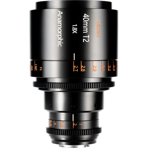 Vazen 40mm T2 1.8x Anamorphic Lens for Micro Four Thirds Cameras