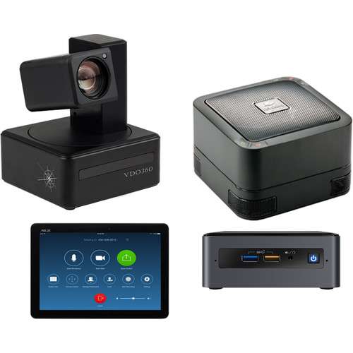 VDO360 CUBE Zoom Room Conference Kit