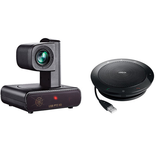 VDO360 VPTZH-01 PTZ Camera for Video Conferencing with Speakerphone