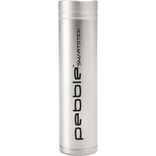 veho Pebble Smartstick Emergency Portable Battery Pack (Silver)