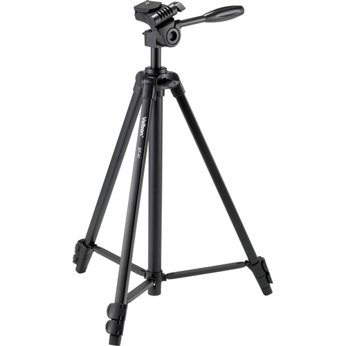 Velbon EF-41 Aluminum 3-Section Tripod with 3-Way Head