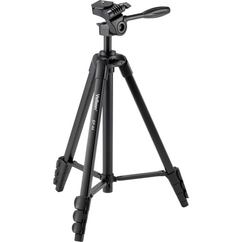 Velbon EF-44 Aluminum 4-Section Tripod with 3-Way Head