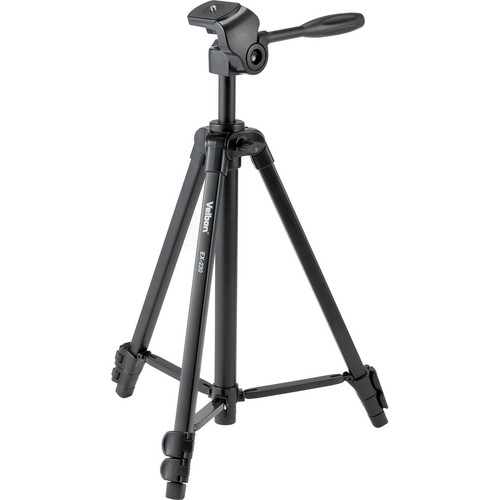 Velbon EX-230 Aluminum Tripod with 2-Way Pan/Tilt Head