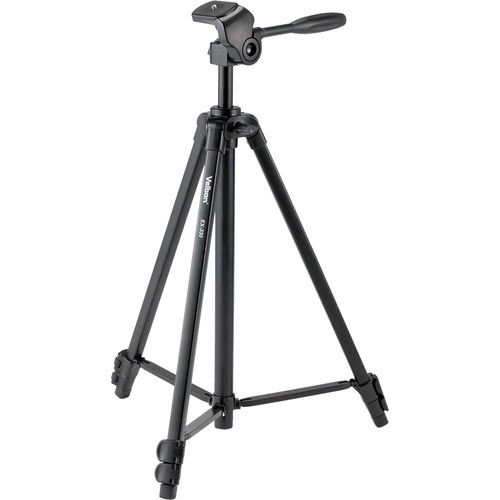 Velbon EX-330 Aluminum Tripod with 2-Way Pan/Tilt Head
