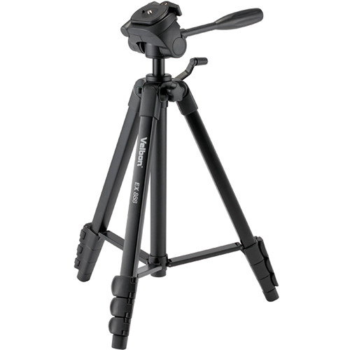 Velbon EX-888 Aluminum Tripod with 3-Way Pan and Tilt Head