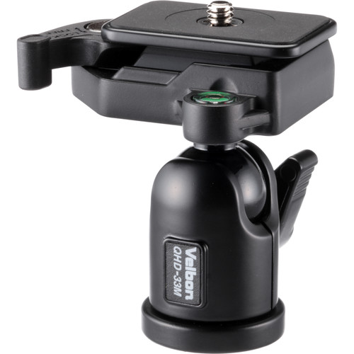 Velbon QHD-33M Aluminum Ball Head