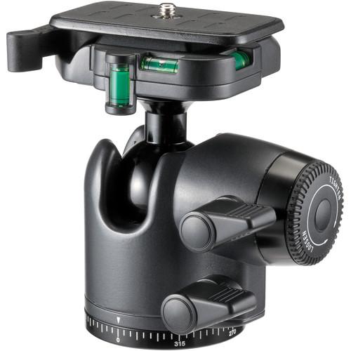 Velbon QHD-65D Ball Head with Friction Control (Aluminum)