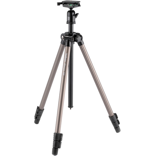 "Velbon 3-Section Field Tripod 1/4"" Screw Mount with Detachable Ball Head and QR Plate"