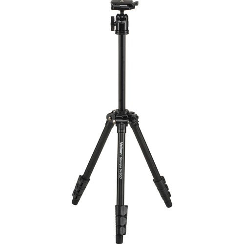 Velbon Sherpa 5430D Aluminum Tripod with QHD-53D Ball Head
