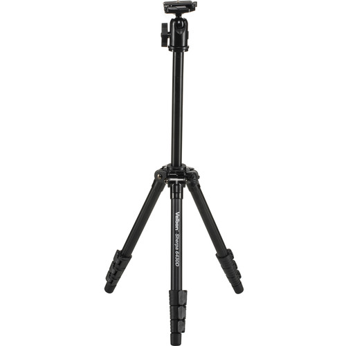 Velbon Sherpa 6430D Aluminum Combo Tripod with QHD-63D Ball Head