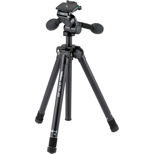 Velbon Ultra 455 Aluminum Tripod with PH-G40D Pan/Tilt Head