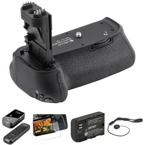 Vello Accessory Kit for Canon 70D & 80D DSLR Camera