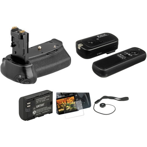 Vello Accessory Kit for Canon 6D Mark II