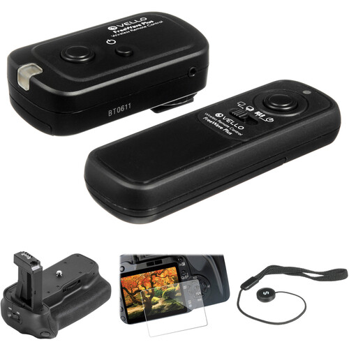 Vello Accessory Kit for Canon Rebel T7i