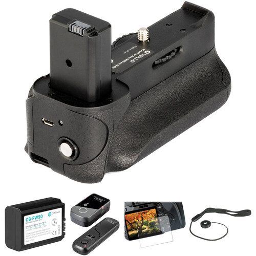 Vello Accessory Kit for Sony Alpha a6300 & a6400