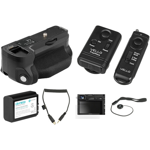 Vello Accessory Kit for Sony a6500