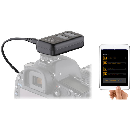 Vello Bluetooth ShutterBoss Advanced Intervalometer Kit for Select Canon, Panasonic, Leica, and Olympus Cameras