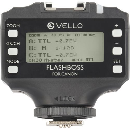 Vello FlashBoss TTL Transceiver for Canon