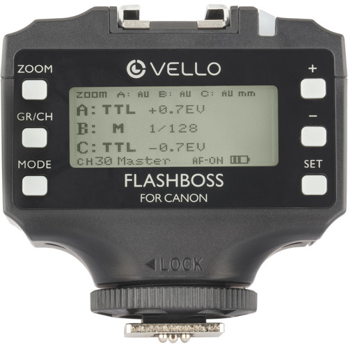 Vello FlashBoss TTL Transceiver for Canon