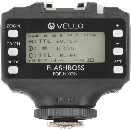 Vello FlashBoss TTL Transceiver for Nikon