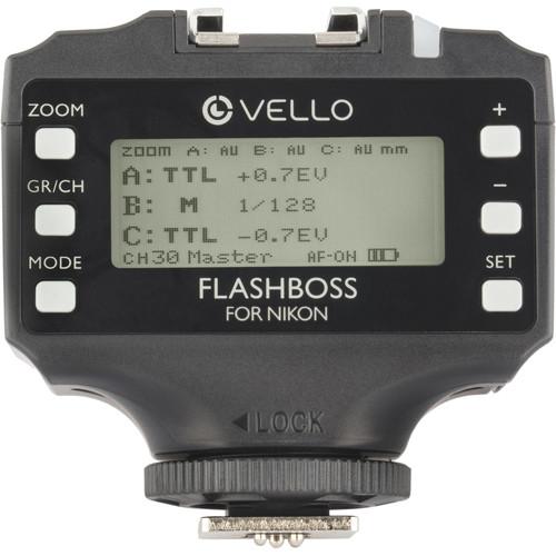 Vello FlashBoss TTL Transceiver for Nikon