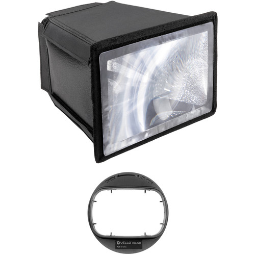 Vello Flash Multiplier-Diffuser Attachment with Canon 600EX RT Series Adapter Kit