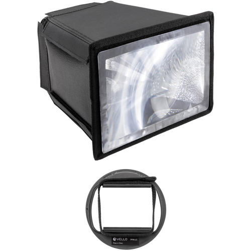 Vello Flash Multiplier-Diffuser Attachment with Large Adapter Kit