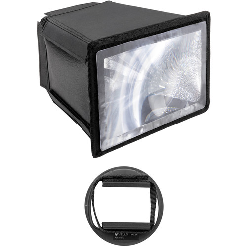 Vello Flash Multiplier-Diffuser Attachment with Small Adapter Kit