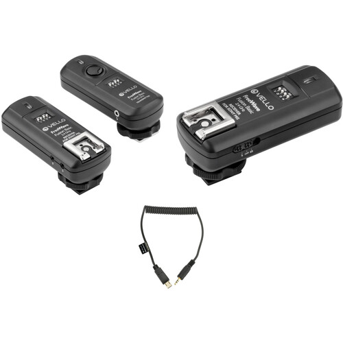 Vello FreeWave Fusion Basic 2-Receiver Wireless Trigger Kit for Sony