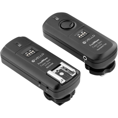 Vello FreeWave Fusion Basic Wireless Flash Trigger with Two Receivers Kit for Canon Cameras