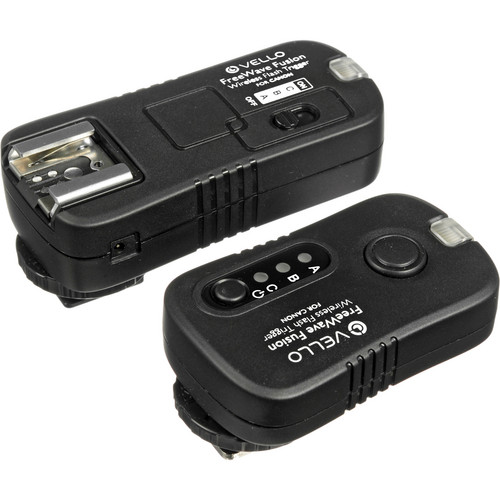 Vello FreeWave Fusion Wireless Remote Kit with 2 Receivers for Canon