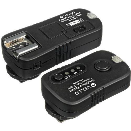 Vello FreeWave Fusion Wireless Remote Kit with 2 Receivers for Nikon