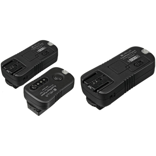 Vello FreeWave Fusion Wireless Remote Kit with 2 Receivers for Sony/Minolta
