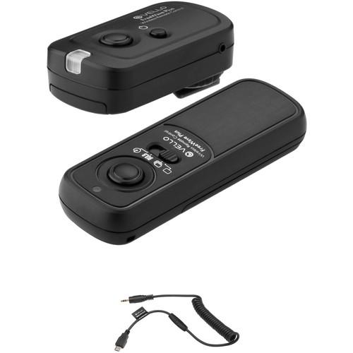 Vello FreeWave Plus Kit For Select Nikon & Fuji Cameras