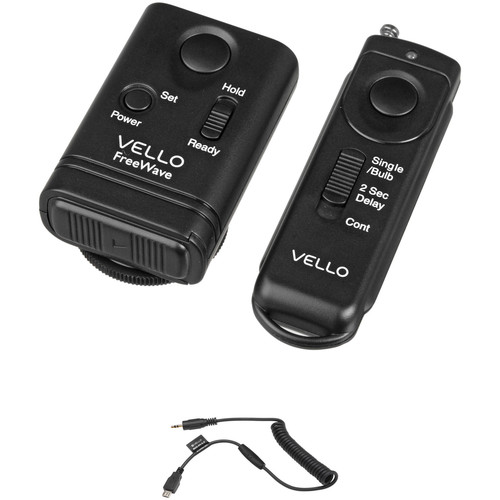 Vello FreeWave Remote Shutter Release Kit for Select Nikon & Fuji Cameras