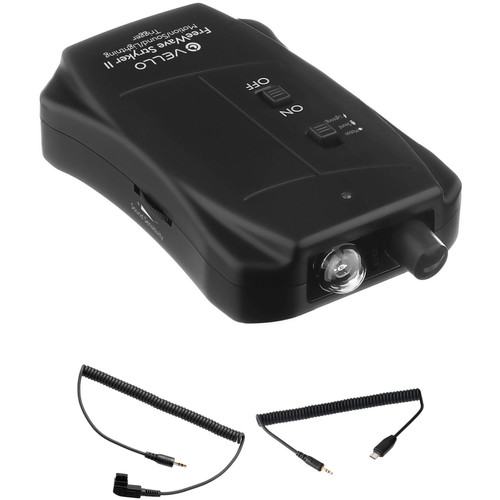 Vello FreeWave Stryker II Motion/Sound/Lightning Trigger for Select Nikon, Sony Multi-Terminal, and Select Sony/Minolta Cameras