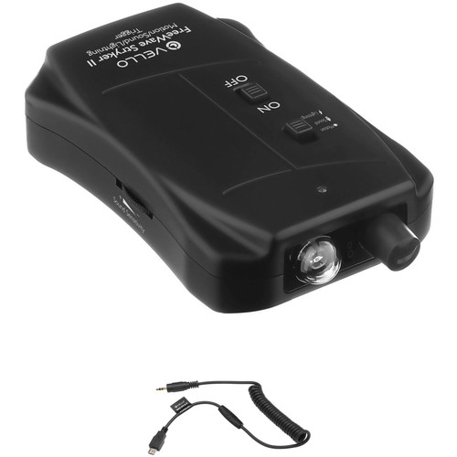 Vello FreeWave Stryker II Motion/Sound/Lightning Trigger for Select Nikon Cameras with 2.5mm Remote Shutter Release Cable