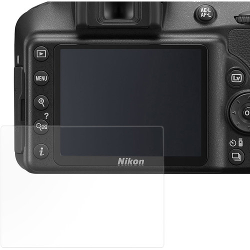 Vello Film Screen Protector for Nikon D3400 Camera