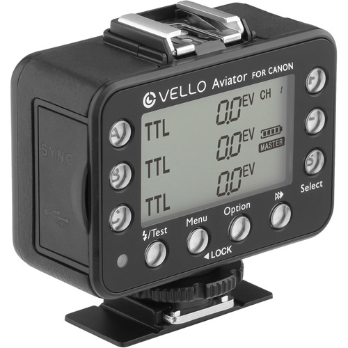 Vello FreeWave Aviator Wireless Flash Trigger Transceiver for Select Canon