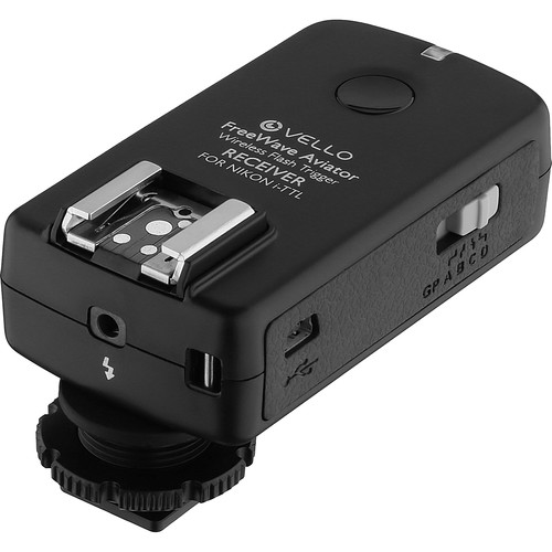 Vello FreeWave Aviator Wireless Flash Trigger Receiver for Nikon