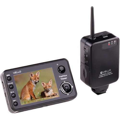 Vello FreeWave Viewer Wireless Live View Remote for Nikon
