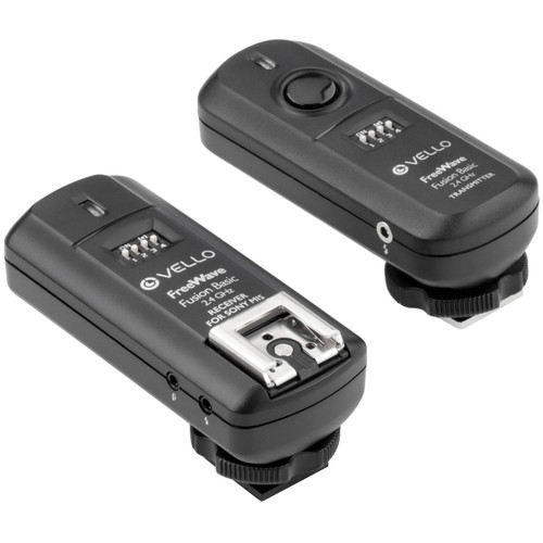 Vello FreeWave Fusion Basic 2.4 GHz Wireless Trigger System for Sony Multi Interface Shoe